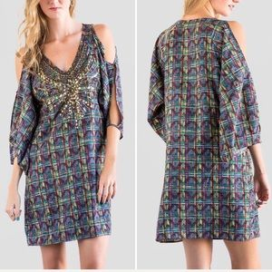 Francesca's Kincaid cold shoulder dress